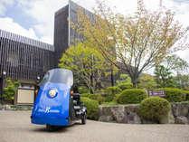 有馬温泉の高台にある緑に囲まれた温泉宿。神戸や大阪、京都からも近く観光の拠点に便利です。