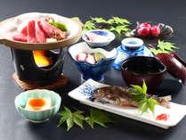 ★ビジネスプランのご夕食★リーズナブルだけど、地元食材をふんだんに使用した料理をお楽しみ下さい。