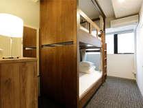 2段ベッドルーム/ドミトリー2人部屋