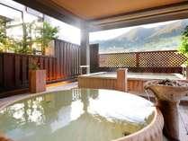 喧騒から離れ、良泉に浸りのんびり箱根連山を眺めながら温泉休暇♪さくらの湯露天(男女入替制)