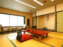 【和室一例】当館基本の和室。10~12.5畳、お部屋によって異なります。