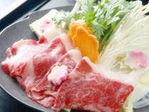 *上州牛すき焼き/群馬の地が育んだ上州牛を料理長特製の割下で野菜の甘みと共にお召し上がりください