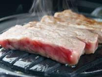 *上州牛ステーキ/特別プランでご提供。国内で初めてEU向けに輸出された、脂の乗った上州牛をステーキで★