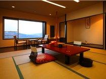 【展望客室】一例/広々と落ち着いたお部屋です。ゆっくりくつろぐことができます。