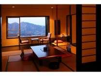 【展望客室/一例】広縁の無いお部屋もごさいます。