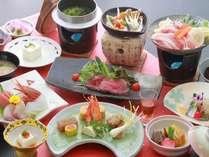 料理一例:上州の味覚満載♪「シルク会席」