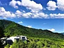 雲海と星空を眺める高原リゾート