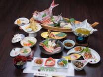 【当館イチオシ!】お料理グレードアップ♪日本海の恵みを堪能◆豪華舟盛り付◆漁師御膳