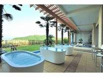 大浴場【スパ・ホリズン】バスタブから景色を独り占め♪