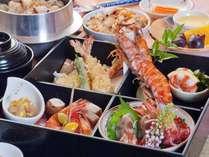 """【夕食】11月限定★贅沢""""上島産""""車海老を満喫プラン!島の自慢の食材を堪能ください♪"""