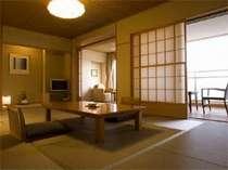 露天風呂付特別室「静の海」お部屋一例