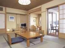 露天風呂付き特別室221・222「静の海」お部屋
