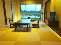【翠の海(ベストオーシャンビュー)】12畳の和モダン和室