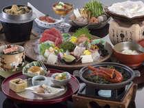 2014年秋冬伊勢海老陶板焼き付き料理