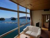 【瑠璃色の海(モーニングオーシャンビュー)】海に面した絶景内風呂のある和室12.5畳
