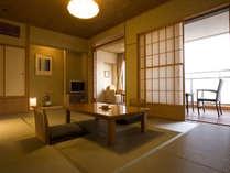露天風呂付客室「静の海」221・222タイプのお部屋
