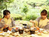 和食会席で旬の味覚を愉しみます♪