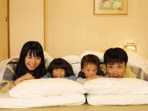 小さなお子様にも安心の和室です。