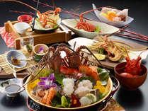 伊勢海老を様々な料理法で堪能できるプレミアム伊勢海老三昧。
