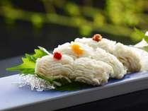 伊良湖ハモの湯引きを3種の味で