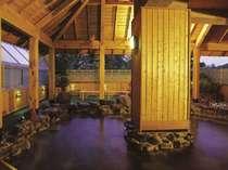 *【鹿山の湯】当ホテルより徒歩2分の別棟にございます。送迎希望の際はフロントまでお声掛け下さい。