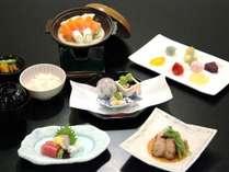 和食会席~薫 信州サーモンの豆乳鍋など地の素材も楽しめる【一例】