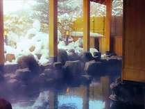 全国でも人気の蓼科温泉で雪見露天風呂~冬ならではの景色を愉しみながらのんびり長湯♪※別棟となります。