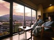 【3階客室】階段なのでご不便はお掛け致しますが、眺めは抜群です,熊本県,蘇る山と故郷 阿蘇内牧温泉 蘇山郷