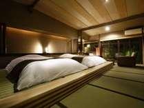 【露天風呂付き和洋室】2015年8月にリニューアルオープンのデザイナーズルームです