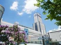 札幌駅直結。ご旅行にもビジネスにも抜群のアクセス環境。