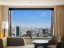 23階~34階、高層フロアの客室からは札幌の街並みを一望できます。