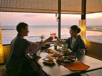 """絶景を眺めながら楽しむ、""""ふたりだけの""""『美味なるひととき♪』"""