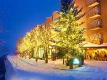 ホテル白馬 夜景