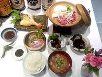 【定番料理一例】どこか懐かしい日替わりの民宿料理♪お気軽に汽車ポッポでのお食事をお楽しみください!