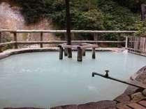 【松川温泉】松楓荘の露天風呂。ホテルよりお車で約20分