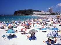 トロピカルな南国ムード☆碧い海☆【白良浜】