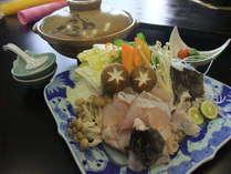 <部屋食>シメは極旨クエ雑炊!鍋が主役の紀州クエ鍋会席【椿】