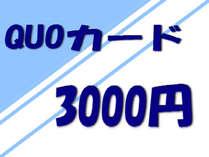 ■クオカード3000 素泊り 駅南口 徒歩6分 無線・有線LAN無料。