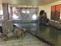 当館自慢の自家源泉を使用した大浴場となります!
