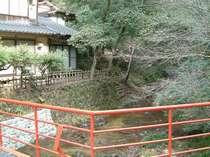 隠れ家温泉 龍頭山荘 川の音