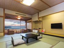 ◆和室スタンダード◆ 日本海が望める くつろぎの客室(バス・トイレ付き セパレートタイプ)