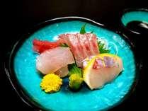 沼津港からの地の魚を中心にしたお造り。