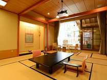 【露天風呂付客室×7つの特典付き】当館自慢の客室で夕・朝食はお部屋食でゆっくりと♪至福のひと時プラン