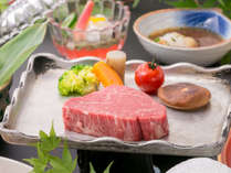 厳選した和牛のステーキ
