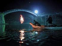■夏限定◆う飼い遊覧プラン■ 胸に残る幻想的な美しさ。日本三大名橋を背に、間近で楽しむ≪夏の風物詩≫