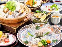 【冬グルメ-とらふぐ-◆至ふくコース】 冬の高級食材「とらふく」を味わい尽くす全6品のフルコース
