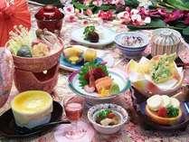 甲州名物 ほうとう鍋・湯葉刺し付き和食料理
