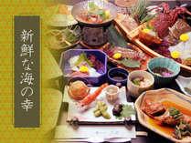 知多の新鮮な食材にこだわった会席料理に舌鼓*