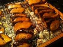 朝食バイキング一例「焼き魚♪」