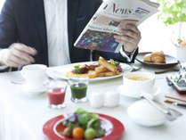 身体に優しいホテル自慢の朝食、朝から元気をチャージ